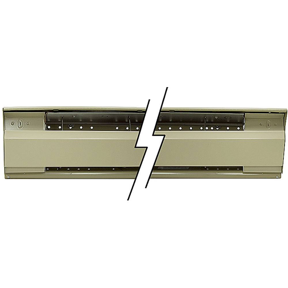 10 Foot 2500 Watt 240 Volt Ac Electric Baseboard Heater Heaters Problems