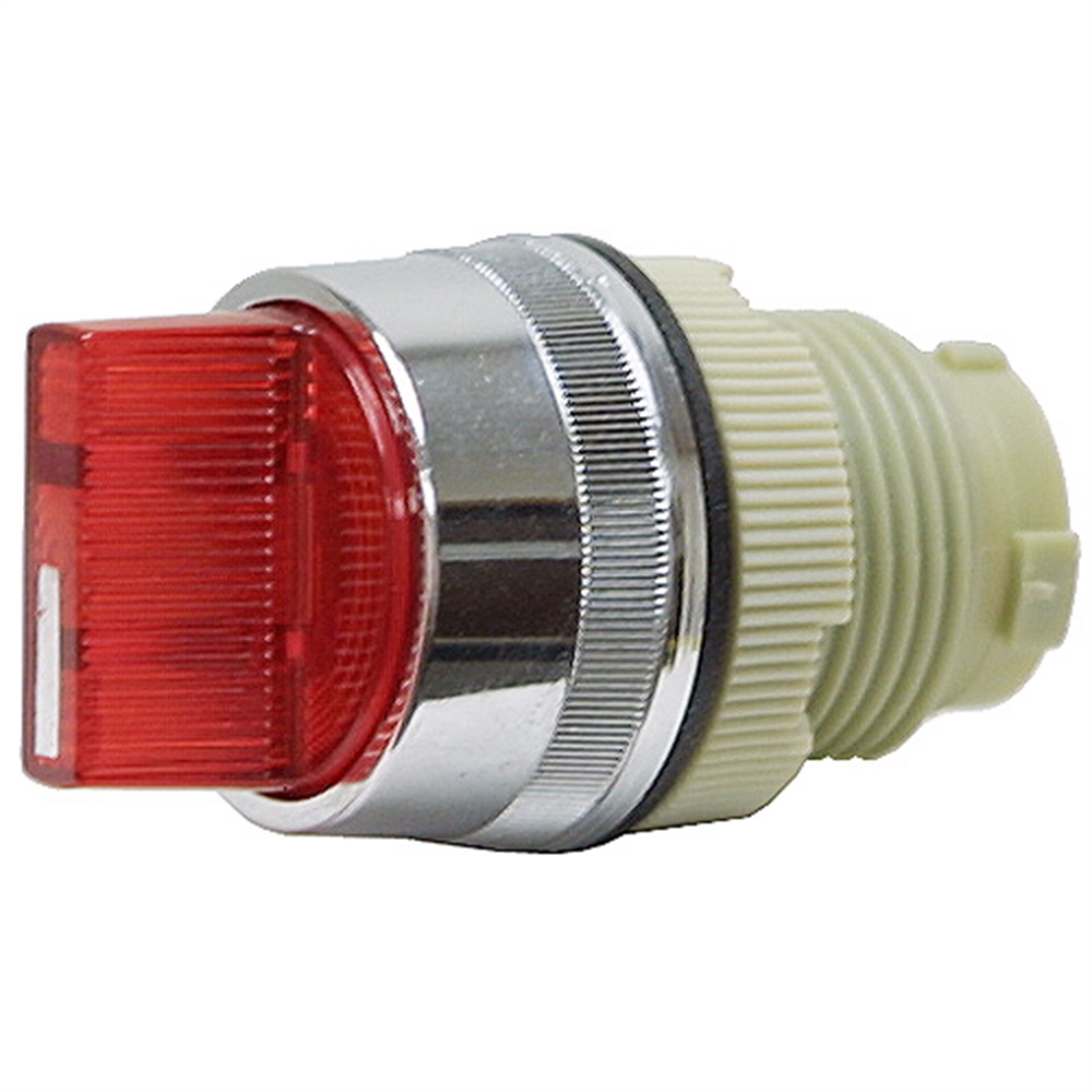 3 Position Maintain Red Rotary Switch Operator
