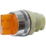 2 Position Momentary Orange Rotary Switch Operator