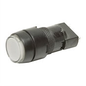 White Indicator Light Housing