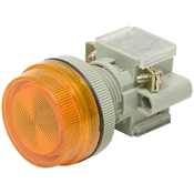 Orange 250 Volt AC Pilot Lamp