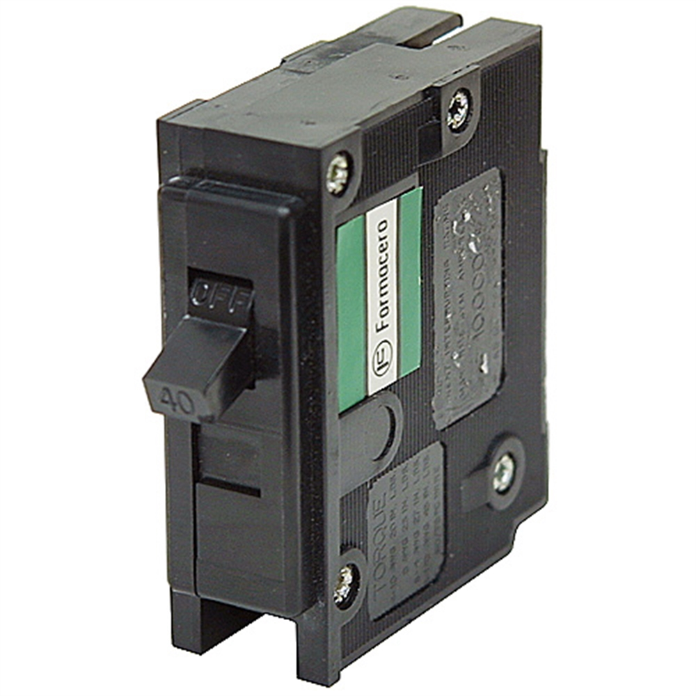 home brands westinghouse 40 amp 1 pole circuit breaker hqp1040