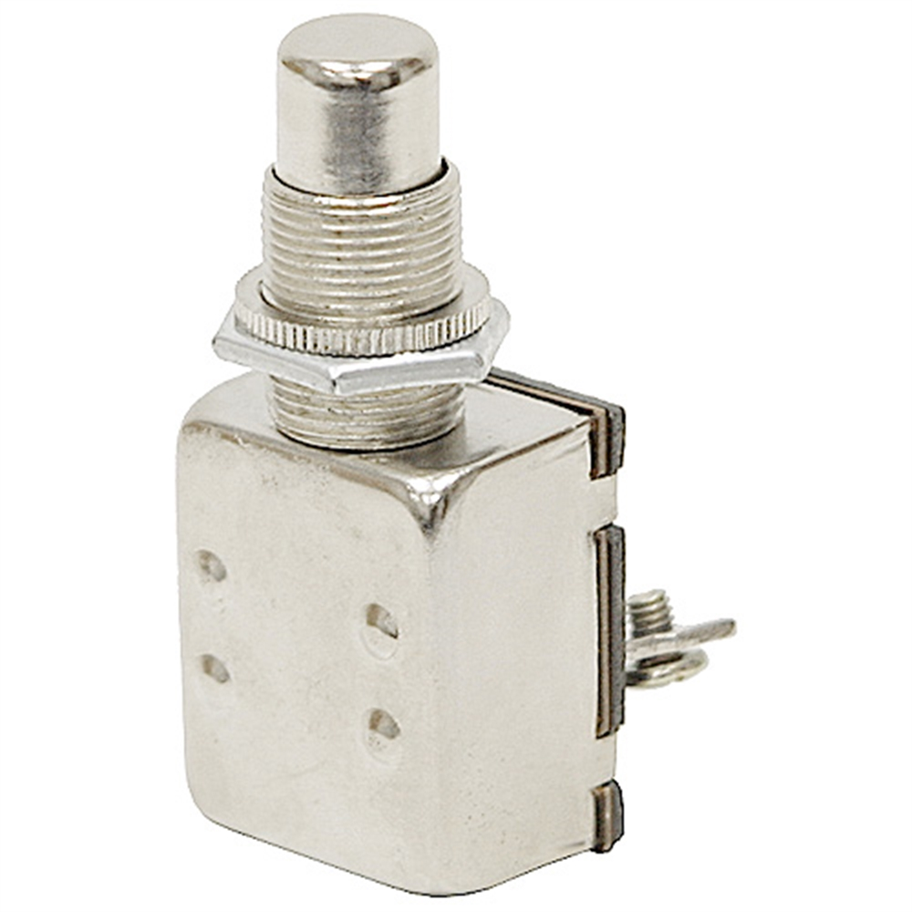 SPST NO 15 Amp Momentary Pushbutton Switch | Pushbutton Switches ...
