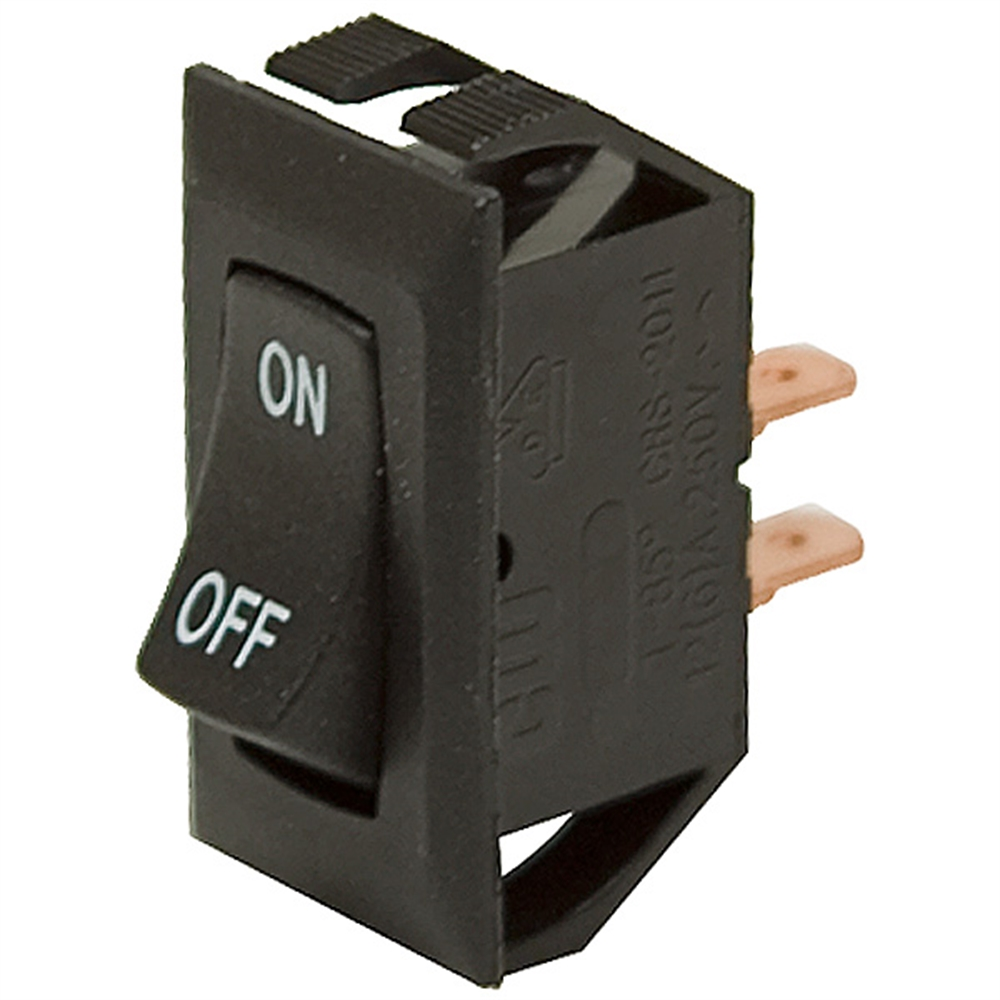 SPST 16 Amp Rocker Switch | Toggle Switches | Switches | Electrical ...