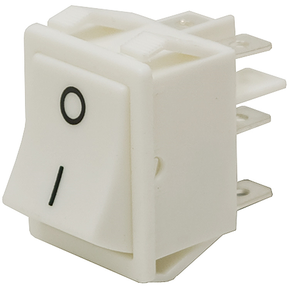 DPDT 20 Amp Momentary Rocker Switch | Toggle Switches | Switches ...
