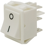 DPDT 20 Amp Momentary Rocker Switch