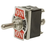 DPDT-CO 20 AMP MOMENTARY-MAINTAINED TOGGLE SWITCH