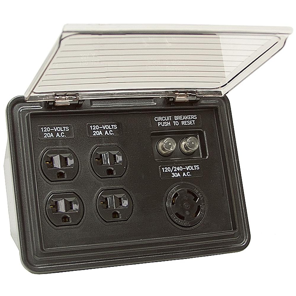120/240 Volt AC Generator Panel Box | Enclosures & Panels ...
