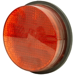 "120 Volt AC 8"" Red Led Traffic Signal Light 5-7 Watts"