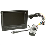 12 Volt DC Vehicle Color Camera System Quad Screen Buyers Products 8881247