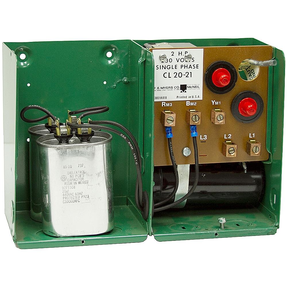 2hp 230vac Submersible Pump Control Box Cl20 21