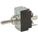 DPDT-CO 30 Amp Maintained Toggle Switch