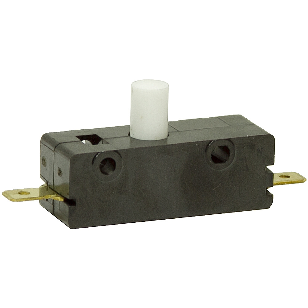 SPNO 115/250 Volt AC 15 Amp Push Button Microswitch | Microswitches ...