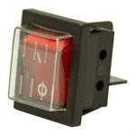 SPST Lighted Rocker Switch 108394-01