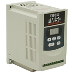 1 HP TECO VFD 230 Volt AC 1Ph Input 3Ph Output