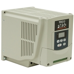 3 HP TECO VFD 230 Volt AC 1Ph/3Ph Input 3Ph Output Variable Frequency Drive
