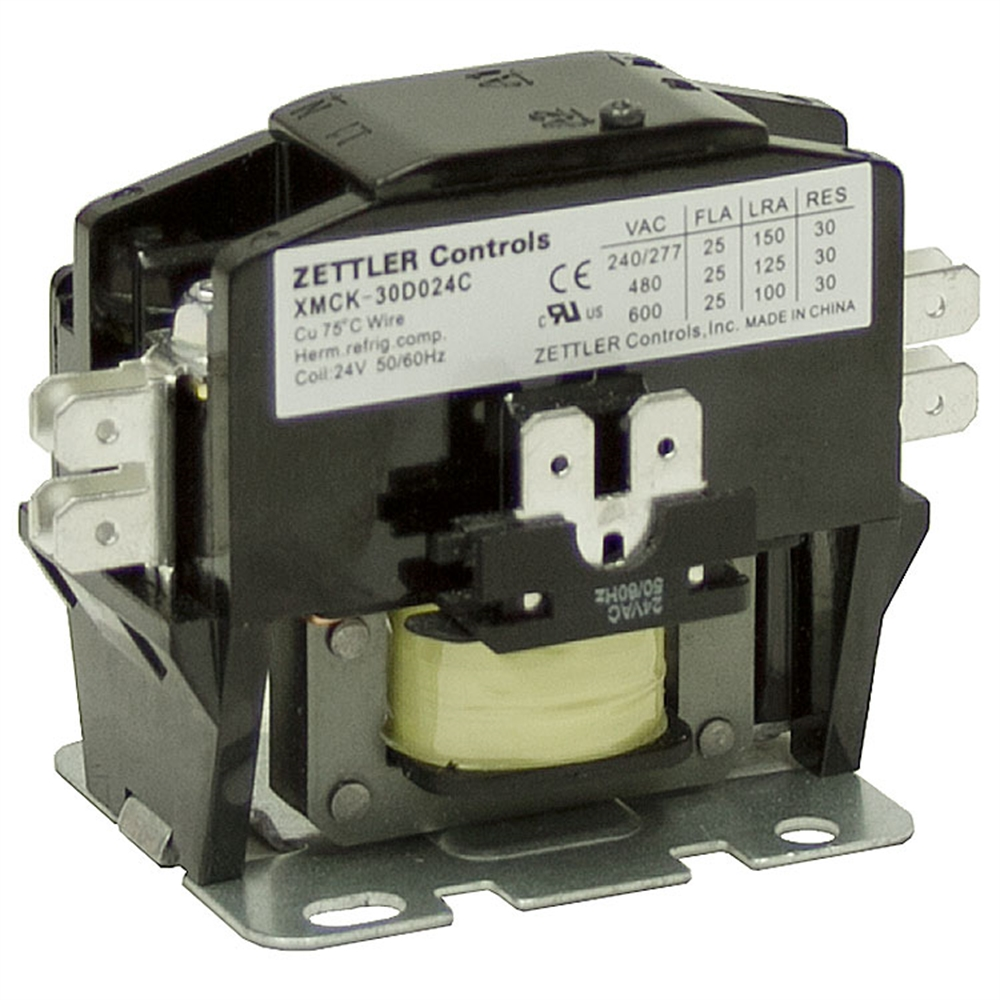 30 Amp Ac Contactor Wiring Diagram