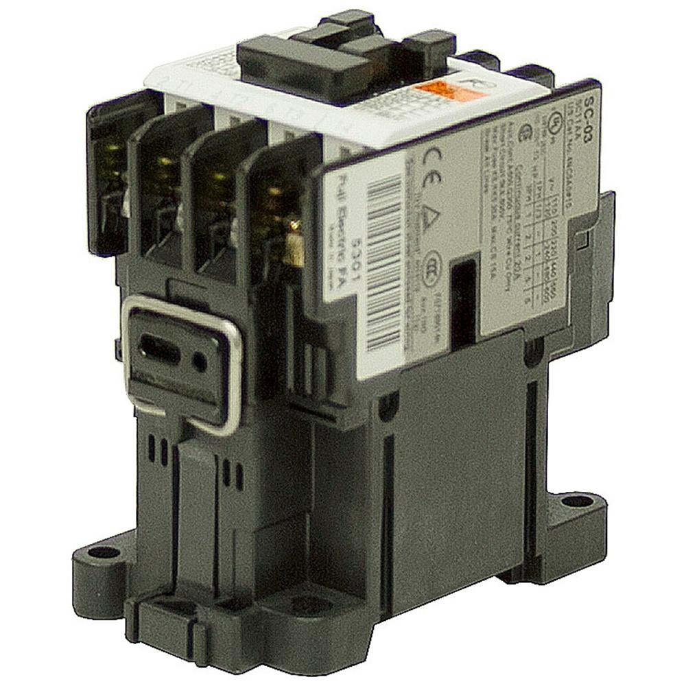 120 VAC 20 AMP 4 POLE CONTACTOR SC-03/4NC0A#10 | AC Relays ...