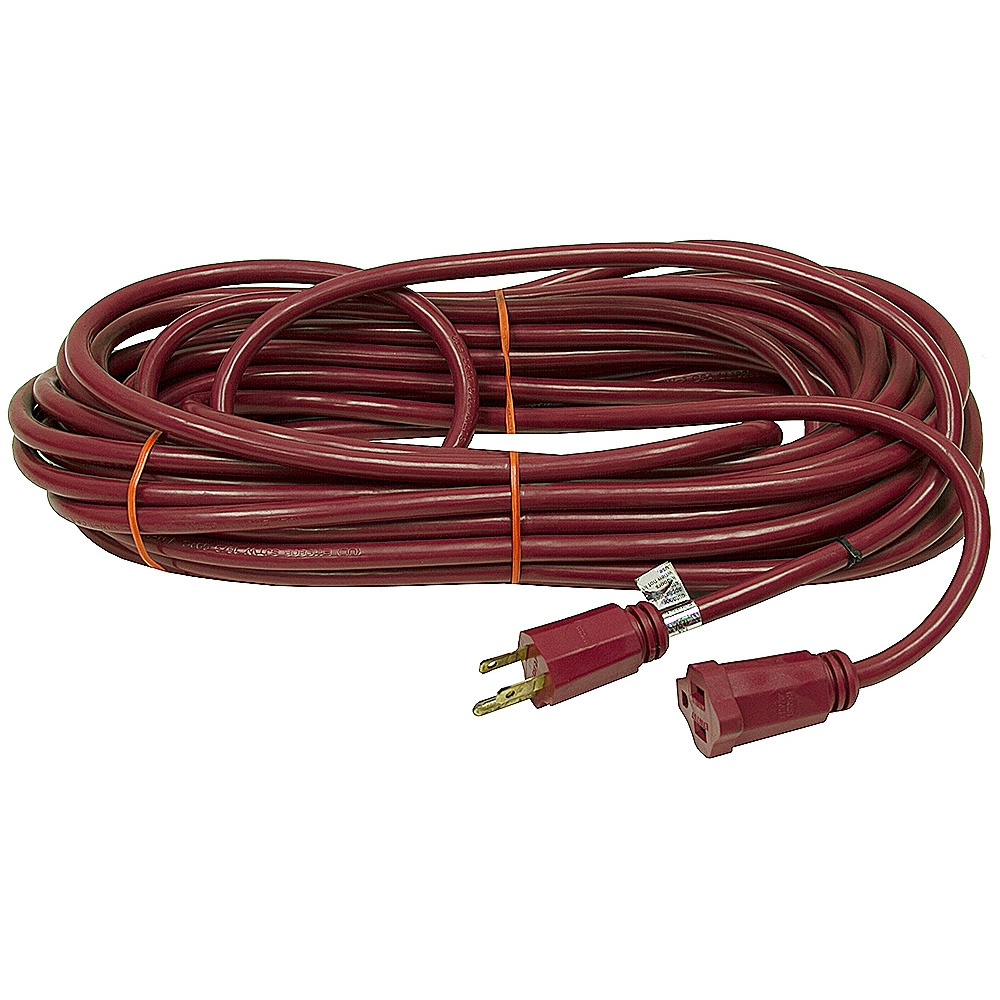No Extension Cords : Ft extension cord maroon power cords line
