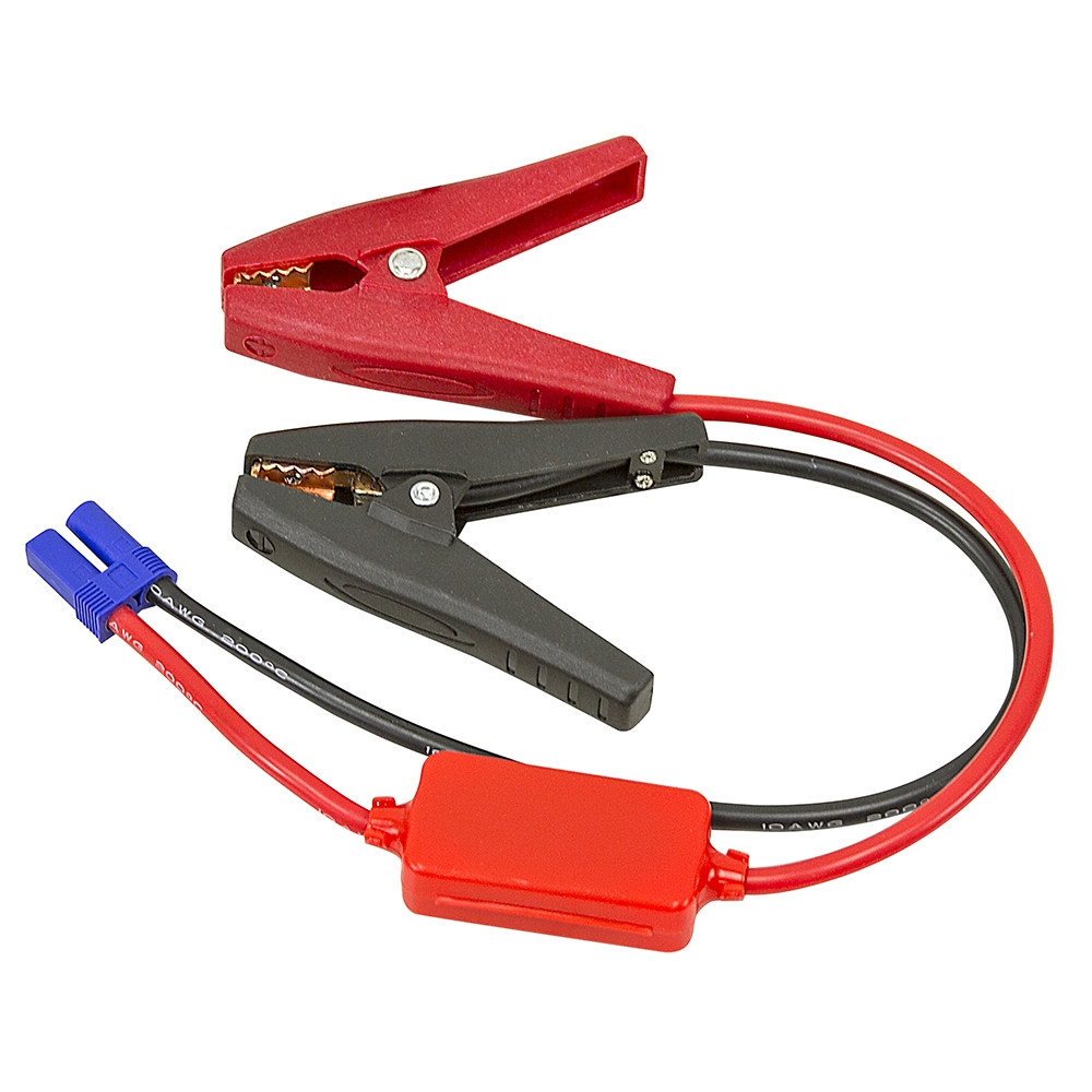 Red Battery Cable : Red black battery cables w clamps power