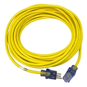 40 Ft 14/3 Yellow Extension Cord