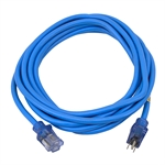 20 Ft 12/3 Sub Zero Blue Extension Cord