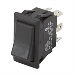 DPDT-CO 20 Amp Rocker Switch Momentary/Maintained