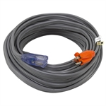 75 Ft 14/3 Gray Extension Cord