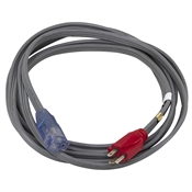 15 Ft 14/3 Gray Extension Cord
