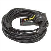 50 Ft 12/3 Black Extension Cord