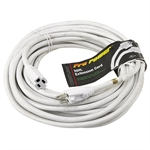 50 Ft 12/3 White Extension Cord