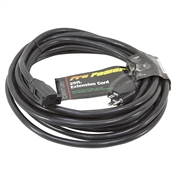 25 Ft 12/3 Black Extension Cord