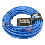 50 Ft 12/3 Blue Extension Cord