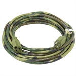 30 Ft 14/3 Camoflauge Extension Cord