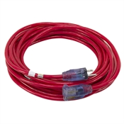 30 Ft 14/3 Red Extension Cord