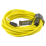 50 Ft 14/3 Yellow Extension Cord