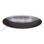 12 Volt DC Optronics LED Black Porch Dome Light RVPLL8CB