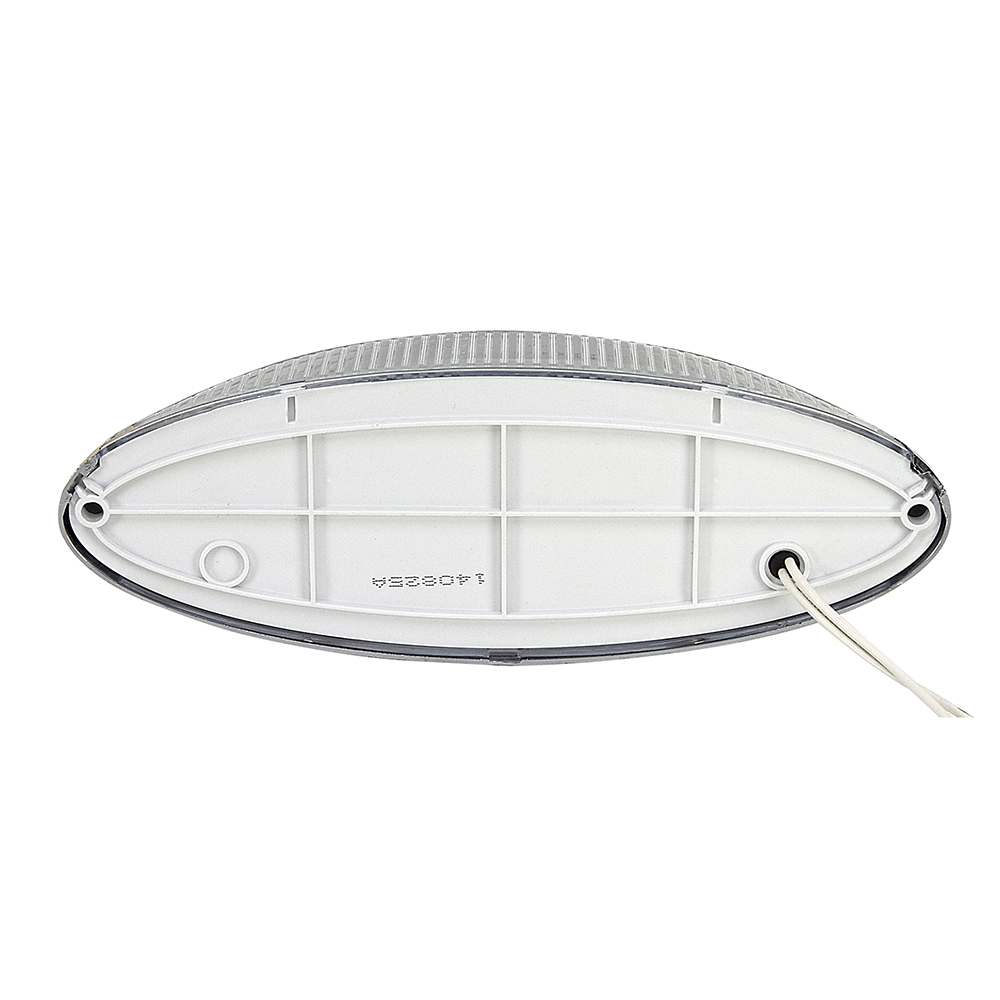 12 Volt Dc Led Light Fixtures: 12 Volt DC Optronics LED Chrome Porch Dome Light RVPLL8CC