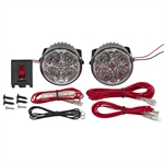 12 Volt DC Burners High Performance LED Racing Light Kit LS204R
