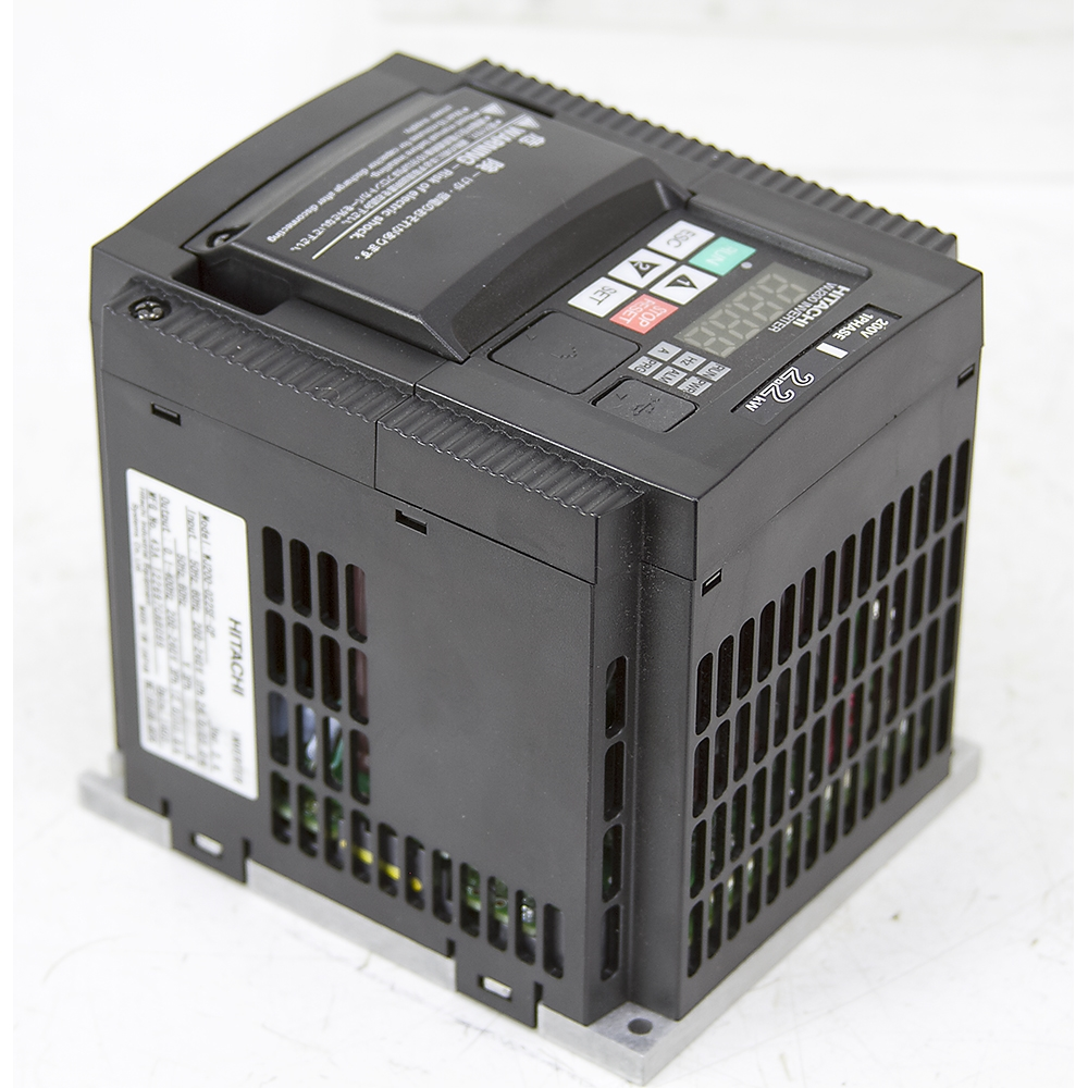 3 hp hitachi variable frequency motor drive wj200 022sf cp for Variable frequency drive motor