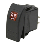 20 Amp 12 Volt DC SPST Rocker Switch