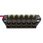 6 Circuit Fused Auxiliary Distribution Block