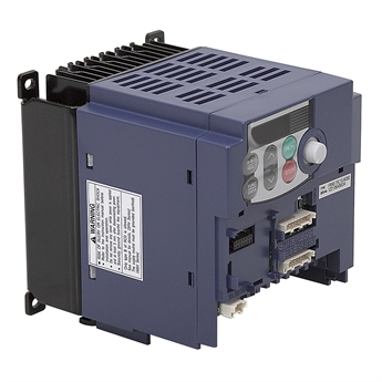 1 HP FUJI FRN0 75C1S-6QB2 120 Volt AC 1PH to 3PH Out Variable Frequency  Drive