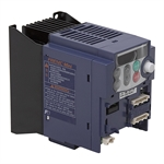 1 HP FUJI FRN0.75C1S-7QI 240 VAC 1PH to 3PH Out Variable Frequency Drive