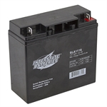 12 Volt 18Ah Sealed Lead Acid Battery Interstate SLA1116
