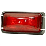 "2-1/2"" 3 LED RED RECTANGULAR LIGHT"