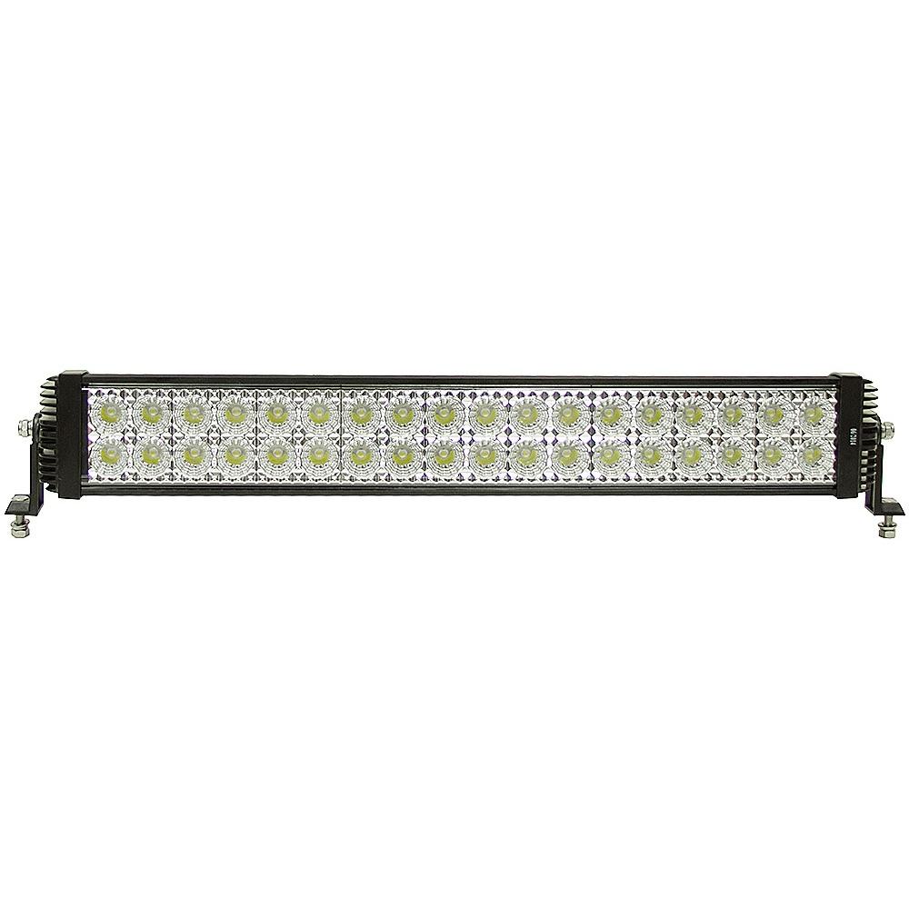 36 led 12 24 volt dc 8100 lumen spot flood light bar. Black Bedroom Furniture Sets. Home Design Ideas