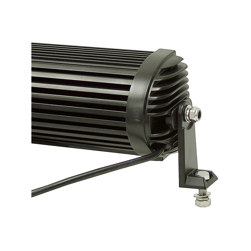 48 led 12 24 volt dc 10800 lumen spot flood light bar. Black Bedroom Furniture Sets. Home Design Ideas