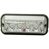 "4-7/8"" 4 Amber LED Strobe Light"