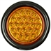 "4"" Round 24 Amber LED Strobe Light Buyers Products SL40AR"